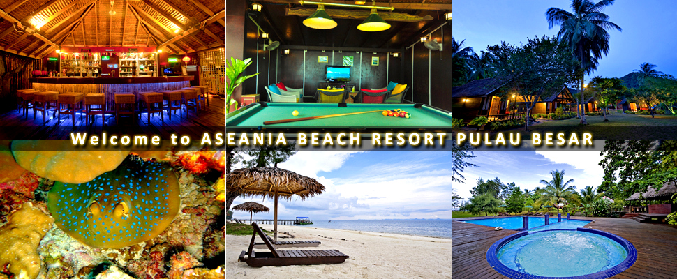 Accommodation in Aseania Pulau Besar